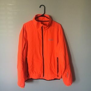 Like New Polo Sport Neon Orange Windbreaker Size L